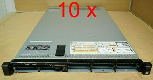 """10x New Dell PowerEdge R630 8 x 2.5"""" Bay 1U Server Chassis + Backplane+ Fans CTO"""
